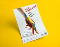 Tract et affiche court d'art plastique
