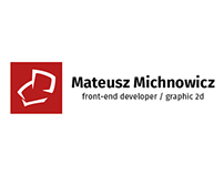 mateusz.michnowi.cz - New Hompage and Logo Redesing