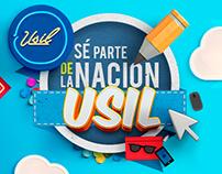 USIL - Universidad San Ignacio  de Loyola // RRSS