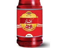 Rahmani Bottle Labble and Branding