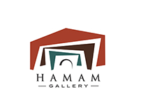 "Visual identity | Gallery ""HAMAM"""