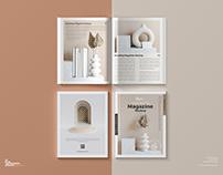 Free Brand Magazine Mockup