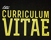 Curriculum Vitae-Work in Progress