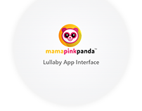 Mama Pink Panda : A Lullaby App Interface
