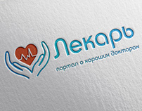 Logo and business card for medical portal