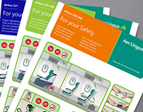 Aer Lingus: Safety Cards