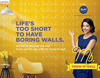ASIAN PAINTS : Ms. KNOW IT WALL