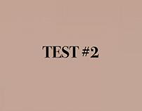 Test #2 Video