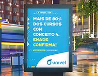 Campanha Institucional Faculdade Univel