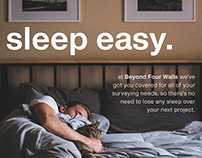Beyond Four Walls Print Advert