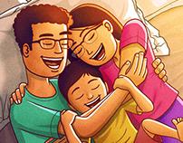 Family Time - Bedtime Hug