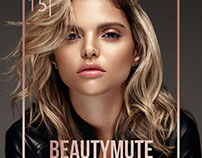 BEAUTYMUTE Magazine - Issue 15 - November 17 Cover
