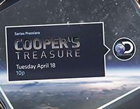 "Launch Promo for Discovery's ""Cooper's Treasure"""