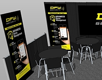3D Rendering Trade Show Graphics