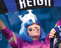 Seattle Reign concourse banner
