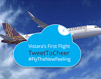 Tweet to Cheer | Vistara