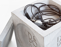Bang & Olufsen stand for Headphones
