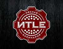 ITLE. Branding of the meat store.