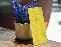 Lucky Envelope design for Caffe Bene Vietnam