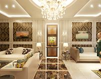 Post-Modern Guest Room