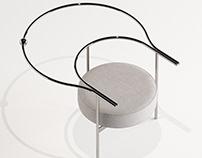 """""""Aphelion"""" chair concept."""