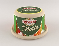 President Cheese Packaging