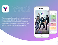 You2: Meeting mobile app UI Design case