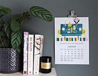 Sustanable Wall Calendar