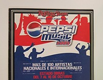Pepsi Music Festival - Promotional Booklet