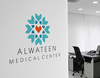 Alwateen Medical Center corporate Identity