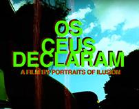 OS CÉUS DECLARAM  - Amen Jr