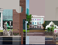 Photo collage murals