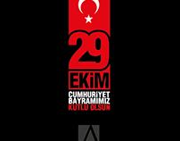 29 Ekim Cumhuriyet Bayramı çalışması