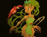 Princess Tree/ Character Design