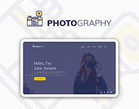 PhotoGraphy - Landing Page