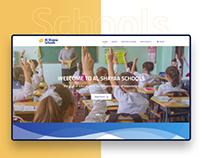 Al Shayaa Schools Website