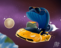 Space whale commission