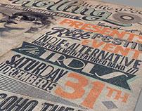 Alternative Flyer/Poster Vol.1 - Typography