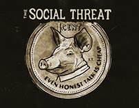 THE SOCIAL THREAT: Even Honest Talk is Cheap EP