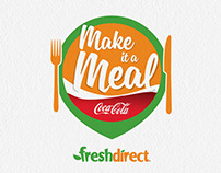 Fresh Direct & Coca-Cola with Meals – Retail Activation