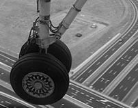 Approach into Fryderyk Chopin Airport