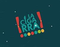 Backstage para LA CIGARRA TV