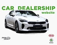 PAN JAN Dealership Website