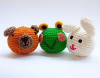 Amigurumi Crochet Toys #01