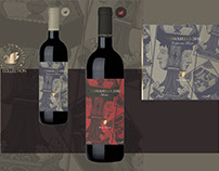 TOMASELLA - Wine labels