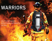 WARRIORS , a Self Contained Breathing Apparatus (SCBA)