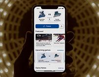 Sports teams fans engagement app for Fannex