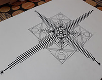 Abstract Geometric Design (Pen)