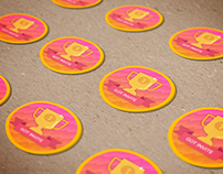 Dribbble Invite - Stickers