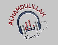 alhamdulillah tune logo design